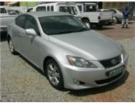 Lexus IS 250 Manual 2008