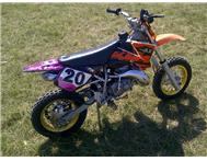 Cooper 50cc kids dirt bike - looks like ktm 50