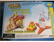 Wind-powered bicylce (technology - 8 years )