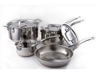 Jamie Oliver 9 Pce Uncoated Stainless Steel Cookware Set in General items Western Cape Fish Hoek - South Africa
