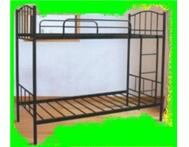 Black Steel Bunk Bed and Pine Available
