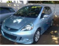 2008 Blue A/T 1.5i V-tec Honda Jazz with 34000km full servic