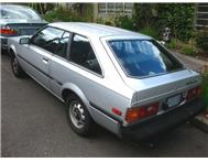 Classic MINT imported Toyota corolla liftback. MUST GO ASAP