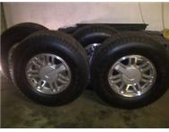 Hummer H3 rims and tires