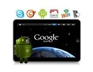 "Electronics > tv / dvd equipment 7"" 4GB Google Android 2.2"