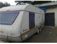 jurgens exclusive double axle caravan