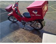 HONDA 125cc EX POST OFFICE DELIVERY BIKE
