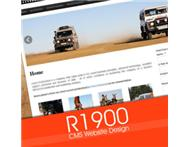 Website Design(CMS) for only R1900