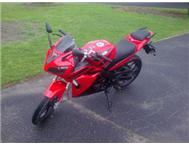 Gomoto ZR200 Red&Black for sale! Cape Town