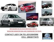 SPECIALISING IN VW GOLF NEW BODY PARTS-RADIATORS-RADIATOR FANS-
