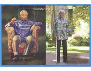 Nelson Mandela Stamps and Birthday Coins