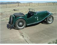 1947 MG TC For Sale Durban