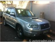 2006 SUBARU FORESTER 2.5 XT Cloth 5dr Auto