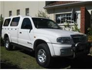 2004 MAZDA DRIFTER 2600i SINGLE CAB 4x2 WHITE ONLY 127000 KM!