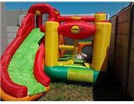 Affordable jumping castles. Bubble machine R100