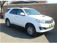 Toyota - Fortuner III 3.0 D-4D Raised Body