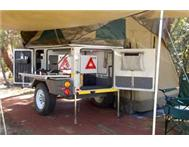 Echo 3 Offroad Camper Trailer for Rent including insurance R 500