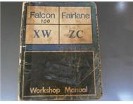 Fairmont GT XW / Fairlane ZC workshop manual for sale.