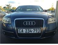 AUDI A6 2006 2.4 MULTITRONIC 118000km.FSH metallic blue black le
