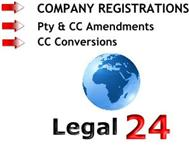 Registration of Companies (Pty s) & Amendments R495.00