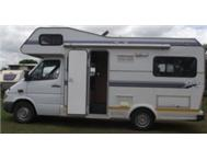 Mercedes Benz Avalon motorhome 2007