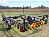 New single axle car trailers