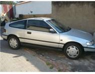 URGENT SALE 1992 HONDA CRX 1600 CASH ONLY