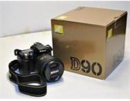 Nikon D90 With 18-105mm VR Lens Kit For Sale