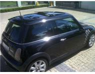 Mini CooperS 2005 Man FSH Double Pan S/Roof 139000km R99 995