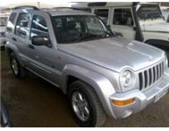 2003 Jeep Cherokee 3.7 LTD Edition 4X4. R90 000