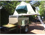 OFF ROAD 4X4 CAMPING TRAILER for HIRE