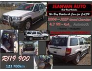 2004 JEEP Grand Cherokee Laredo 4.7 V8 - 4x4_ Automatic