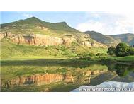 Groenhoek Guest Farm Self Catering Cottage/ House/ Bungalow in Holiday Accommodation Free State Clarens - South Africa