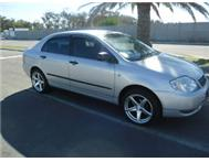 2003 TOYOTA COROLLA 160i GLS 5 SPEED MANUAL