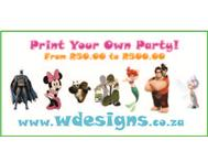 Print Your Own Party - WDesigns