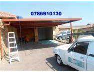 CHEAP CARPORTSGERMISTON STRONG CARPORTS KEMPTON PARK