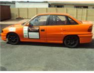 OPEL ASTRA 200ie RACING CAR WITH TRAILER FOR SALE!