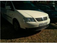 2010 VOLKSWAGEN CADDY 1.9TDI Manual