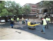 TAR SURFACING & PAVING BLOCK PAVING & RUBBLE