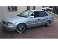 160I Toyota corrola 2000 model Rxi Shape