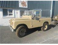 LANDROVER SERIES 3 SWB WITH SOFT TOP CANOPY