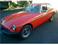 MGB GT Burnt orange Durban KZN