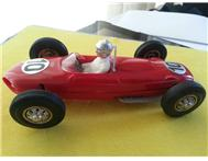 1966 1/24th scale Carrera Ferrari slot car