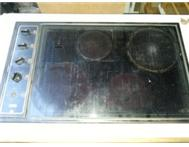 4 plate defy glass hob.