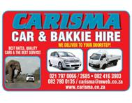 Carisma Car And Bakkie Hire Car Rental in Other Services Western Cape Plumstead - South Africa