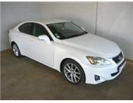 2011 LEXUS IS250 EX AUTO AT A BARGAIN PRICE OF R279990