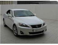 2012 LEXUS IS 250 6A S