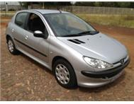 2005 PEUGEOT 206 1.6 XS A/C P/S E/W LEATHER SEATS MAGS 5 SPEED F