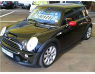 Mini Cooper S Sunroof bank finance From R 1999pm AA dekra RWC