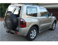MITSUBISHI PAJERO 3.2 DiD SWB TURBO DIESEL
